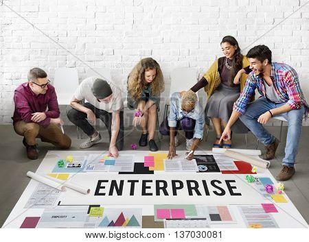 Enterprise Campaign Company Franchise Plan Concept