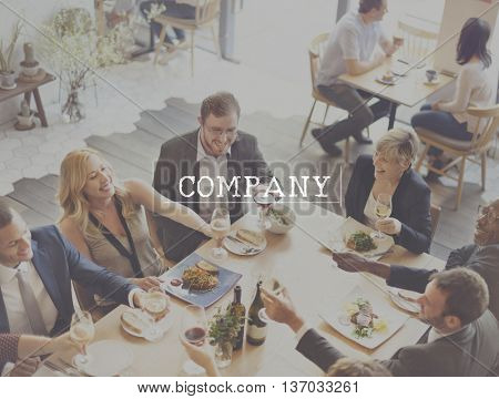 Company Business Teamwork Corporate Collaboration Concept