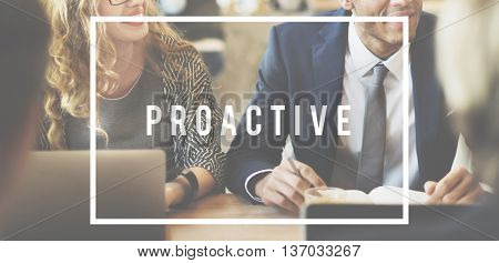Proactive Leader Leadership Opportunity Motivation Concept