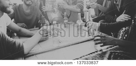 Party Friendship Celebration Drinks Beverages Concept