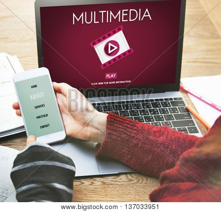 Multimedia Browsing Entertainment Video Concept