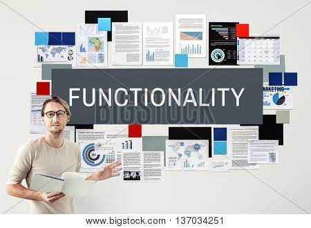 Functionality Digital Computer System Practical Concept