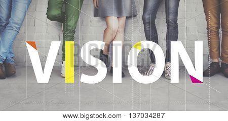 Vision Strategy Planning Goal Target Aspirations Motivation Concept
