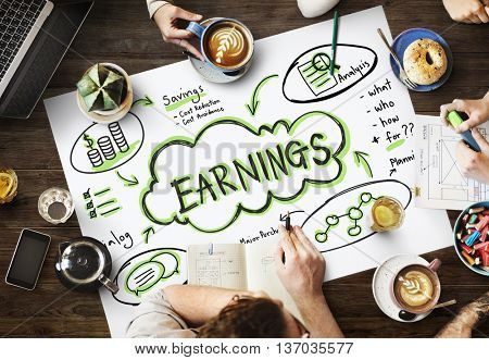 Finance Earnings Wealth Invest Asset Concept