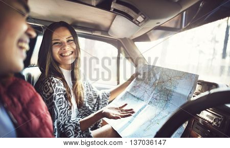 People Friendship Hangout Traveling Destination Holiday Concept