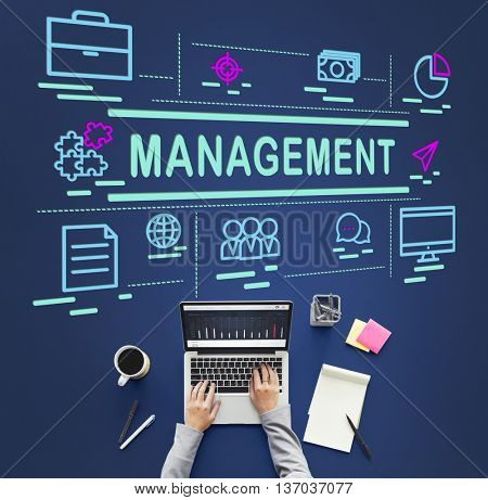Management Coaching Controlling Leadership Concept