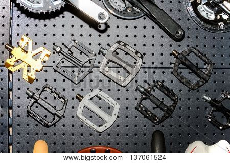 Accessories / Parts Of Mountain Outdoor Or Off-road Bicycles