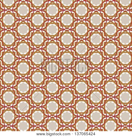 Decorative background with an arabic themed pattern