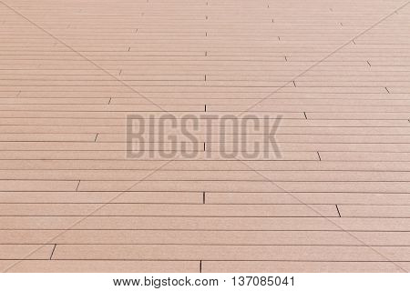 Modern wooden floor texture perspective view background.