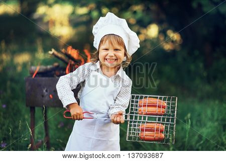 The Child Cook.