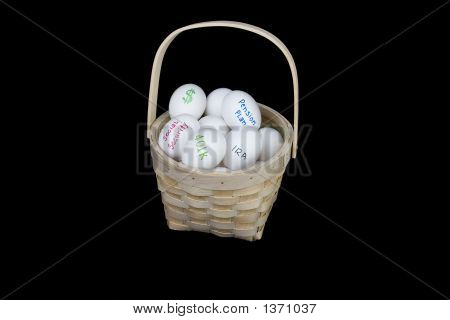All Retirement Eggs In One Basket
