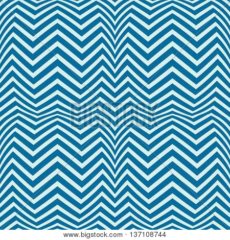 Blue vector endless pattern created with thin undulate stripes seamless composition.