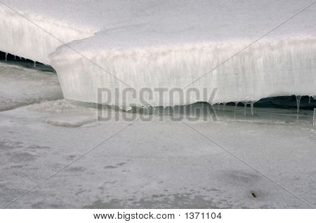 Shelving Ice