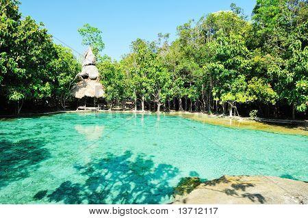 Sramorakot (emerald Pool) Krabi Province