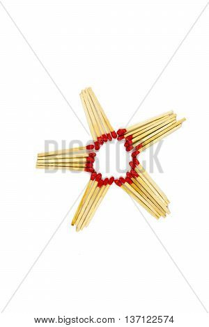 Match Group Star Isolated On White Background