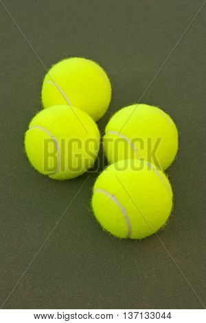 Yellow Tennis Balls - 10