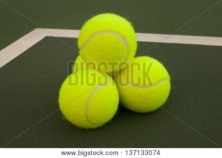 Yellow Tennis Balls - 6