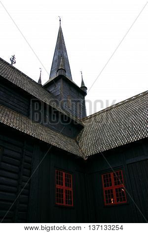 Tower Of The Lom Stave Church