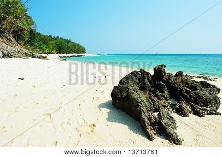 Rocky Beach. Koh Pai Island