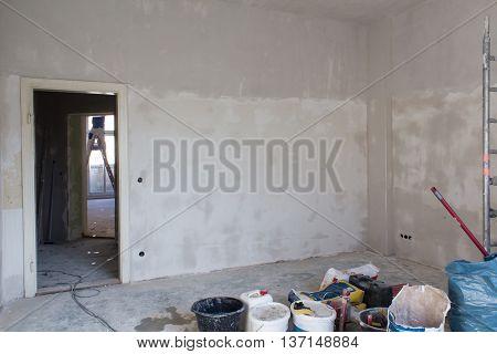 Empty Room Before Renovation , Home Renovating