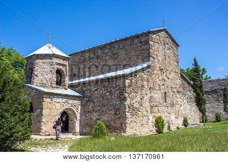 mediaeval orthodox church