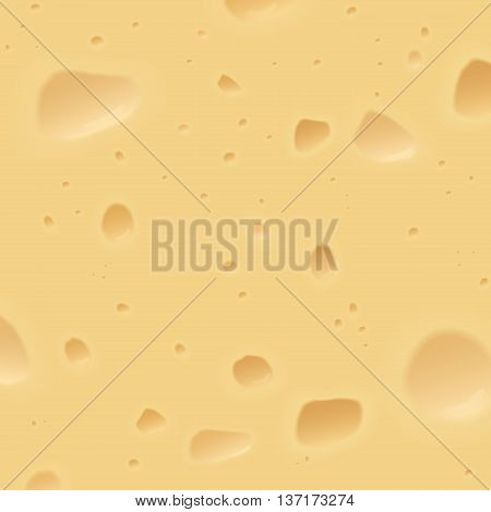 Texture of a swiss cheese. Food cheese background