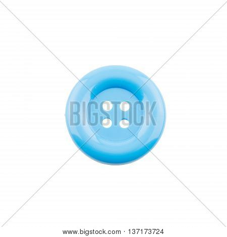 blue clasper isolated on a white background