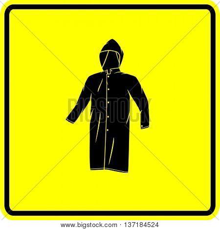 raincoat sign