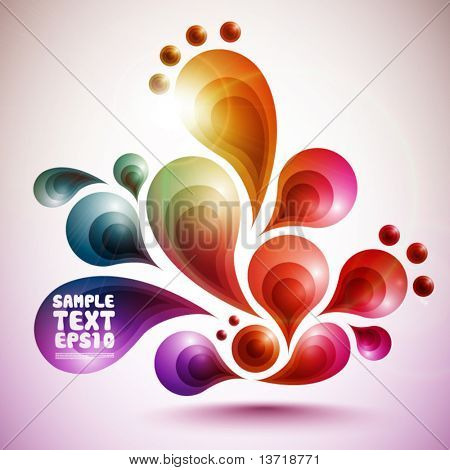 Funky Vector Graphic Design