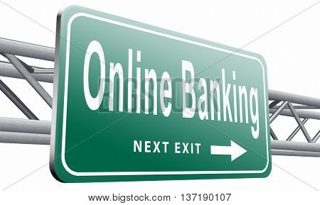 online internet banking money deposit account ,isolated, on white background.3D illustration