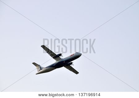 Tacv Airplane In The Air