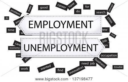 Employment Unemployment Crisis Concept