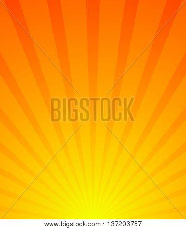 Sunburst, Starburst Background. Converging-radiating Lines Abstract Background In Vertical Format. F