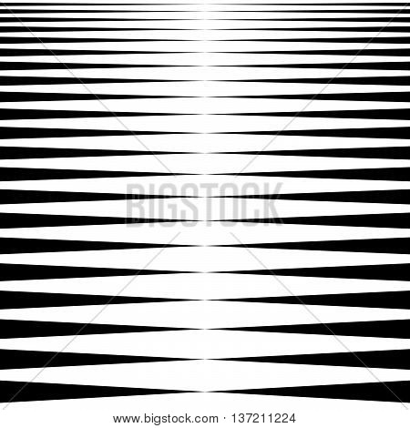Vertical  Lines, Stripes - Parallel Straight Lines From Thick To Thin In Sequence. Abstract Monochro