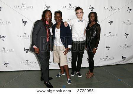 (L-R) Renata Hill, Terran Dandridge, Blair Dorosh-Walther and Patreese Johnson attend Logo TV's 2015 Trailblazer Honors at Cathedral of St John the Divine on June 25, 2015 in New York City.