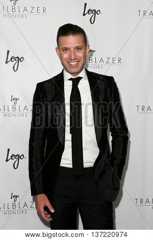 NEW YORK-JUN 25: Actor Omar Sharif Jr. attends Logo TV's