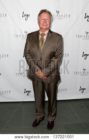 NEW YORK-JUN 25: Walter Naegle attends Logo TV's