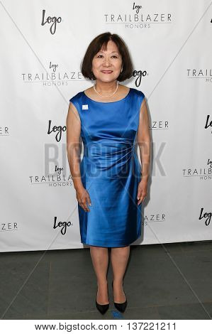 NEW YORK-JUN 25: Marsha Aizumi attends Logo TV's