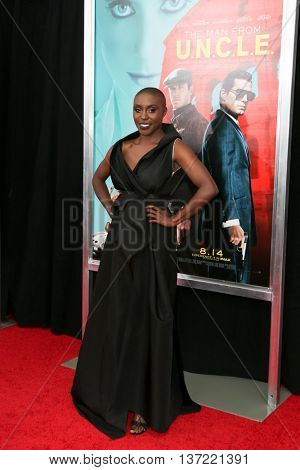 NEW YORK-AUG 10: Singer Laura Mvula attends