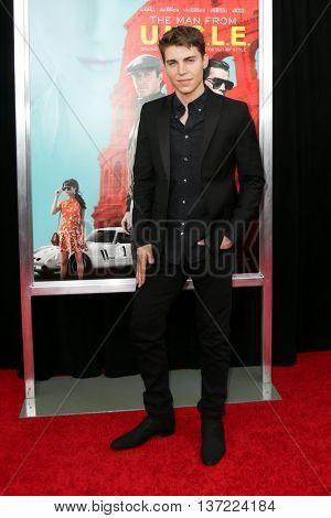 NEW YORK-AUG 10: Actor Nolan Gerard Funk attends