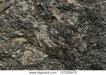 texture of a rock in the mountains