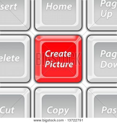 create picture button
