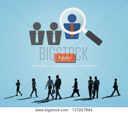 Application Occupation Profession Job Seeker Concept