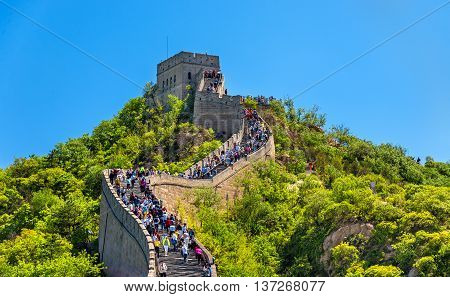 The Great Wall of China in Badaling