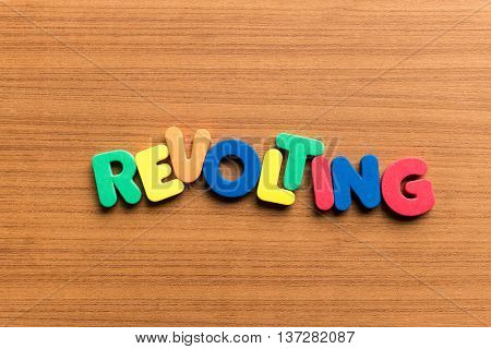 Revolting Colorful Word
