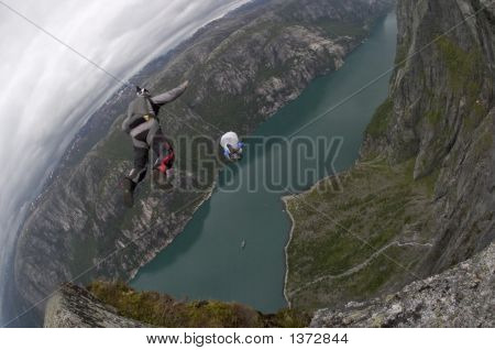 Base Jumping In Norway