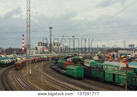 Railroad Transportation On Trains