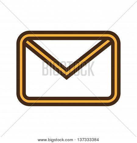 Email or mailing isolted icon design, vector illustration graphic.