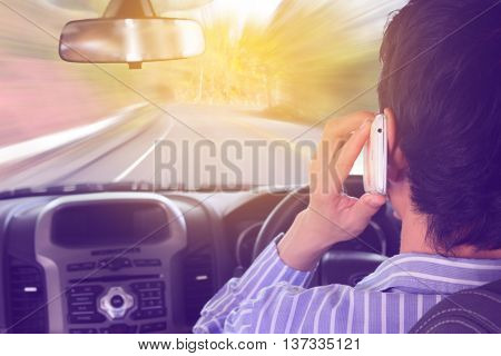 Driving while holding a mobile phone cell phone use while driving
