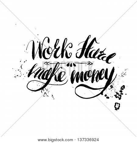 Job motivation lettering